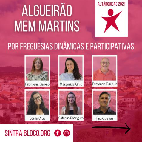 Algueirão Mem Martins: propostas para um Freguesia para as pessoas