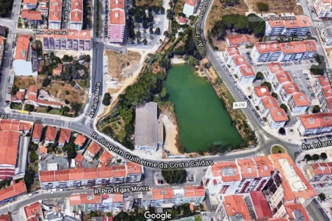 Bloco defende espaço verde para lago dos 4 caminhos, na Agualva