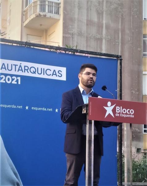 Bruno Góis encabeça a candidatura do Bloco à Câmara de Sintra