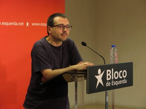 Carlos Carujo, Candidato do BE à Câmara de Sintr