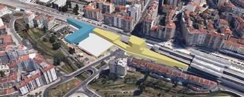 Parcela M é um dos lotes que vai a hasta pública, abrindo espaço à construção junto à estação CP de Agualva Cacém