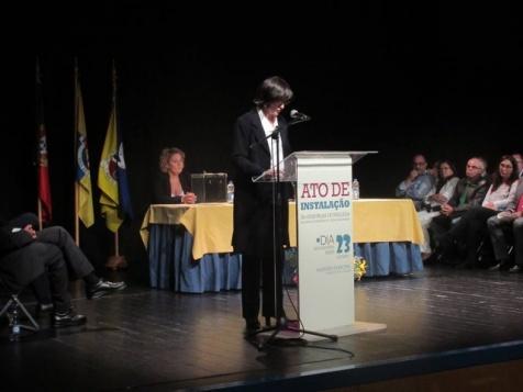 Sandrine Silva, eleita do Blcoo em Cacém e São Marcos
