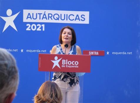 Tânia Russo é primeira candidata do Bloco à Assembleia Municipal de Sintra